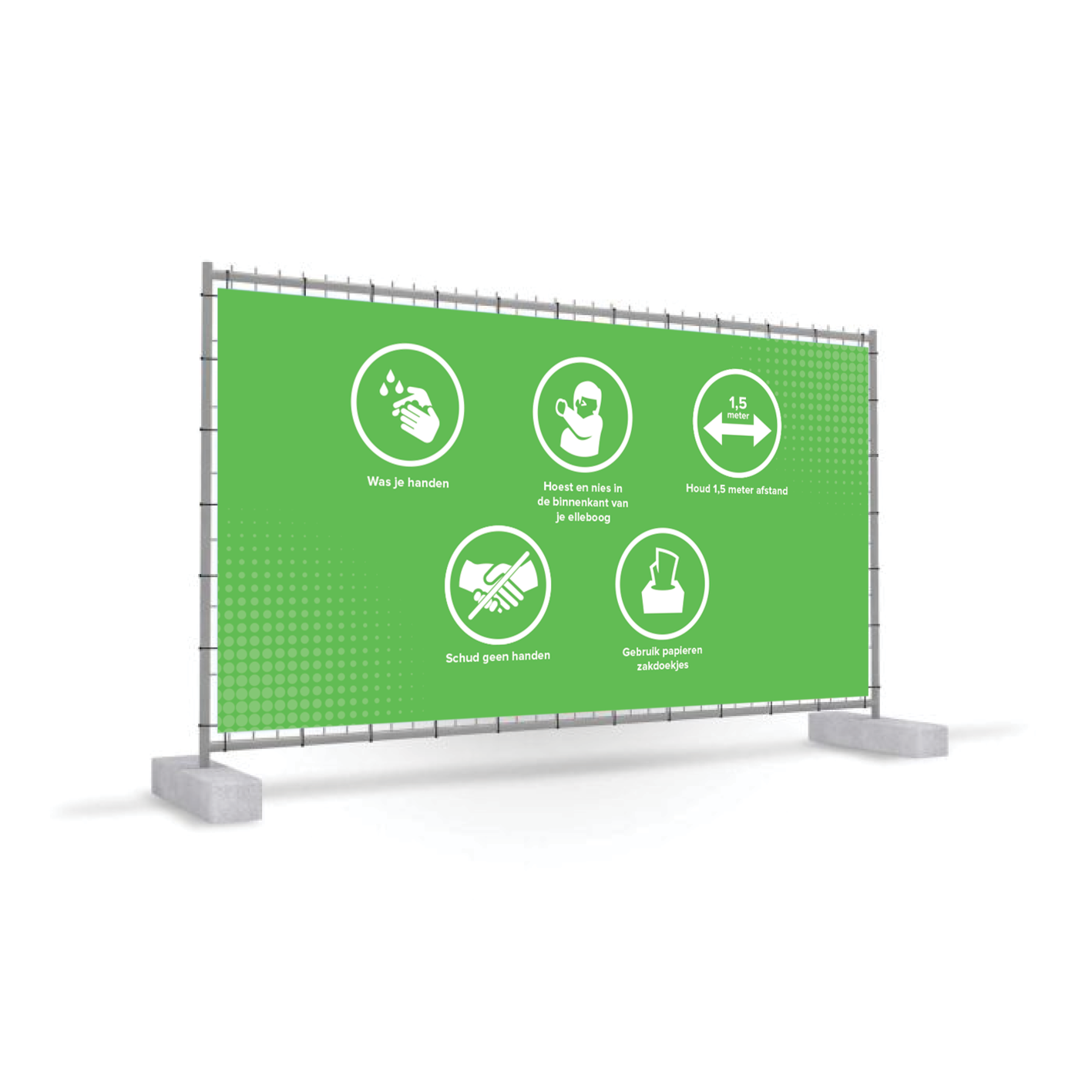 Banner de cerca móvil Corona COVID-19 - Copy