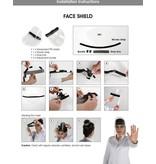 Face shield - splash shield