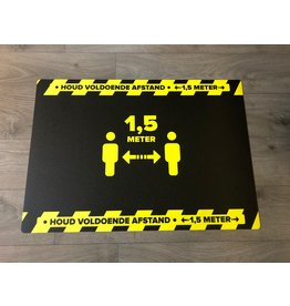 Indoor floor mat Keep away
