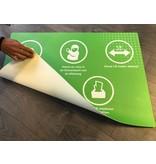 Floor mat within RIVM rules corona