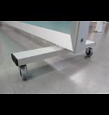 Cloison de séparation autoportante en plexiglas sécurité / prévention corona deluxe