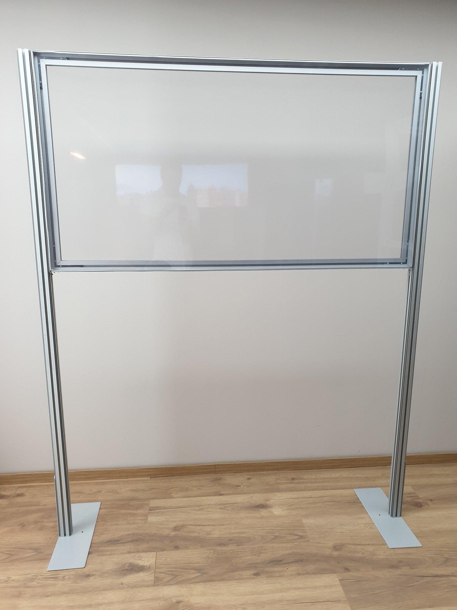 2d Counter model transparent cloth