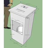 Hand-desinfectie meubel