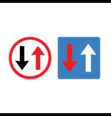 Priority floor sticker set