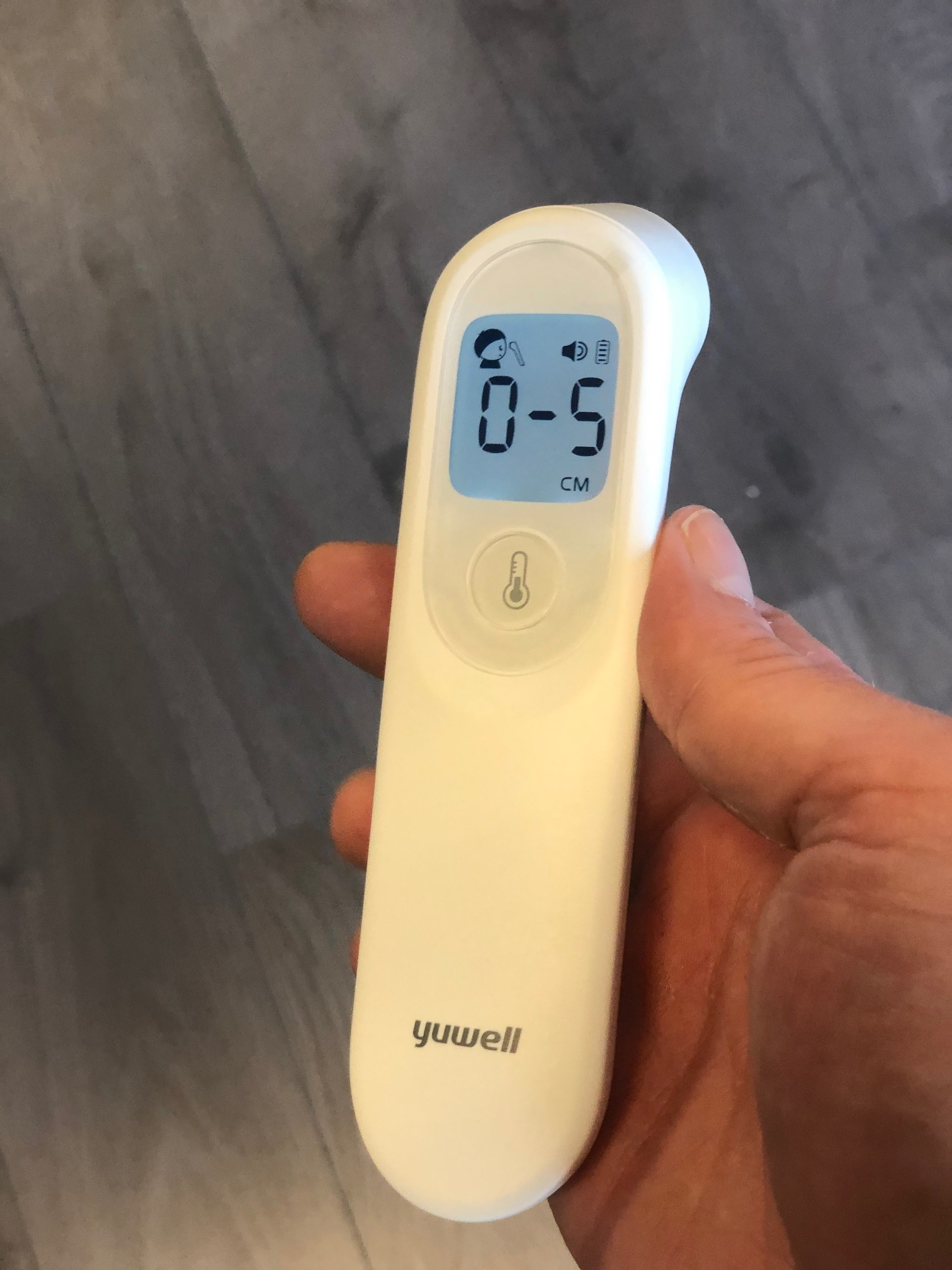 Infrared fever thermometer