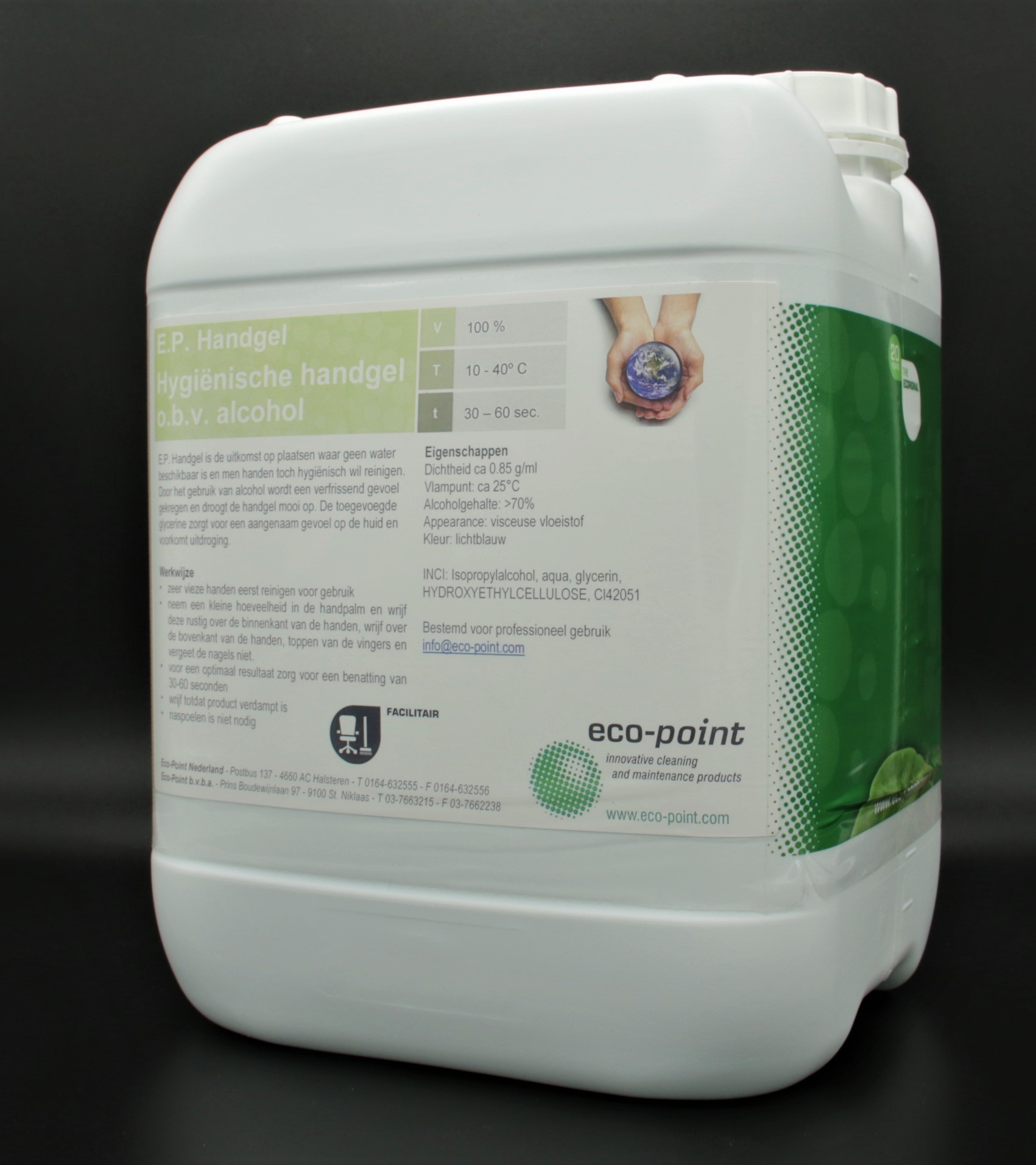 Desinfección profesional gel de manos 10 litros