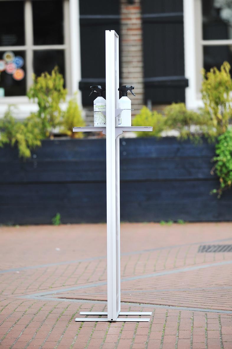 Desinfectiezuil Luxe 40 x 145 cm, incl desinfectant