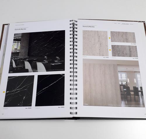Interieurfolie Sample Boek