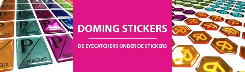 Doming stickers: uniek 3D-effect zorgt voor echte eyecatchers