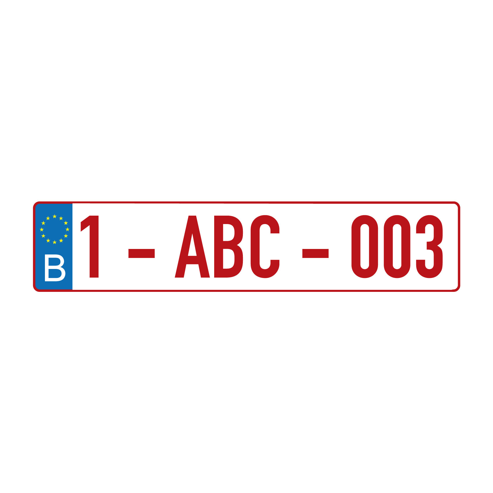 Dutch licence plate sticker - Copy