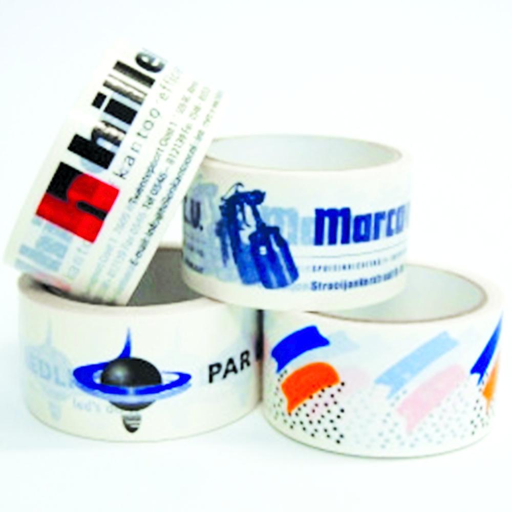 PP Acrylic bedrukte tape 50 mm