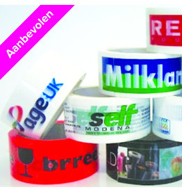 PVC tape printed 50 mm