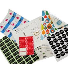 Orajet Order stickers