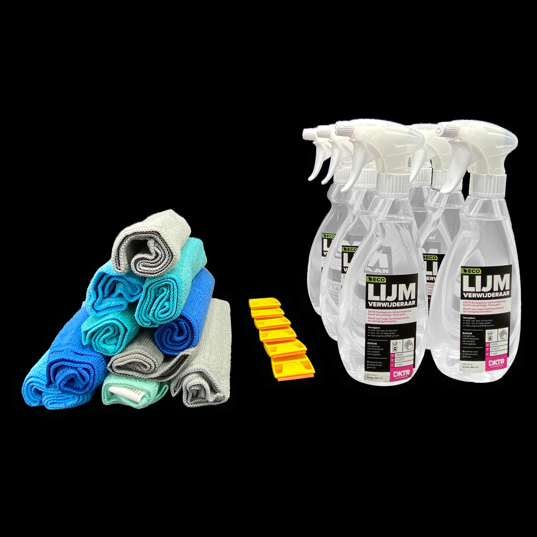 Paquete de des-adhesivo (grande): quita fácilmente los adhesivos