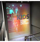 Dichroic iridescent window film rainbow film