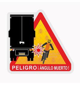 Blind Spot - Peligro ángulos muertos Truck Spain sticker