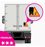 Blind spot - Peligro ángulos muertos Truck Spain sticker - PREMIUM