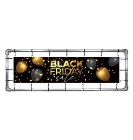 Blackfriday spandoek Goud