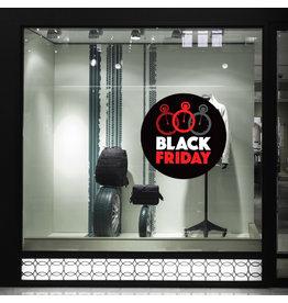 Blackfriday-Fensteraufkleber - Copy