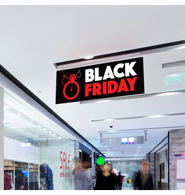 Blackfriday ceiling hanger (printed on both sides) - Copy
