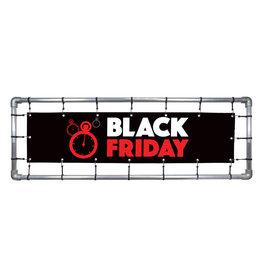 Blackfriday spandoek Rood