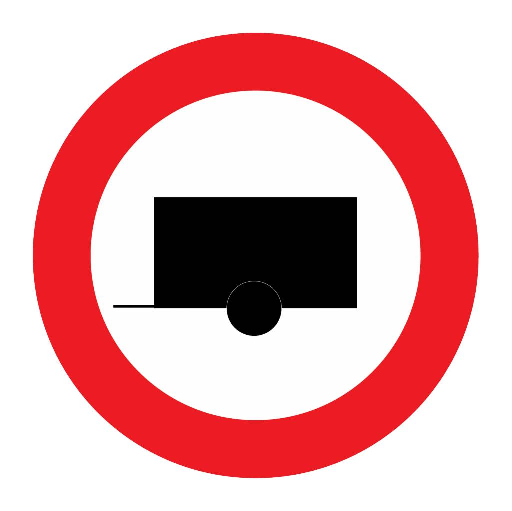 Sticker Aus Der Kategorie Verkehrsschild Sticker