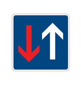 Traffic from opposite direction Sticker