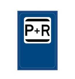 Parking space for the benefit of the public transport
