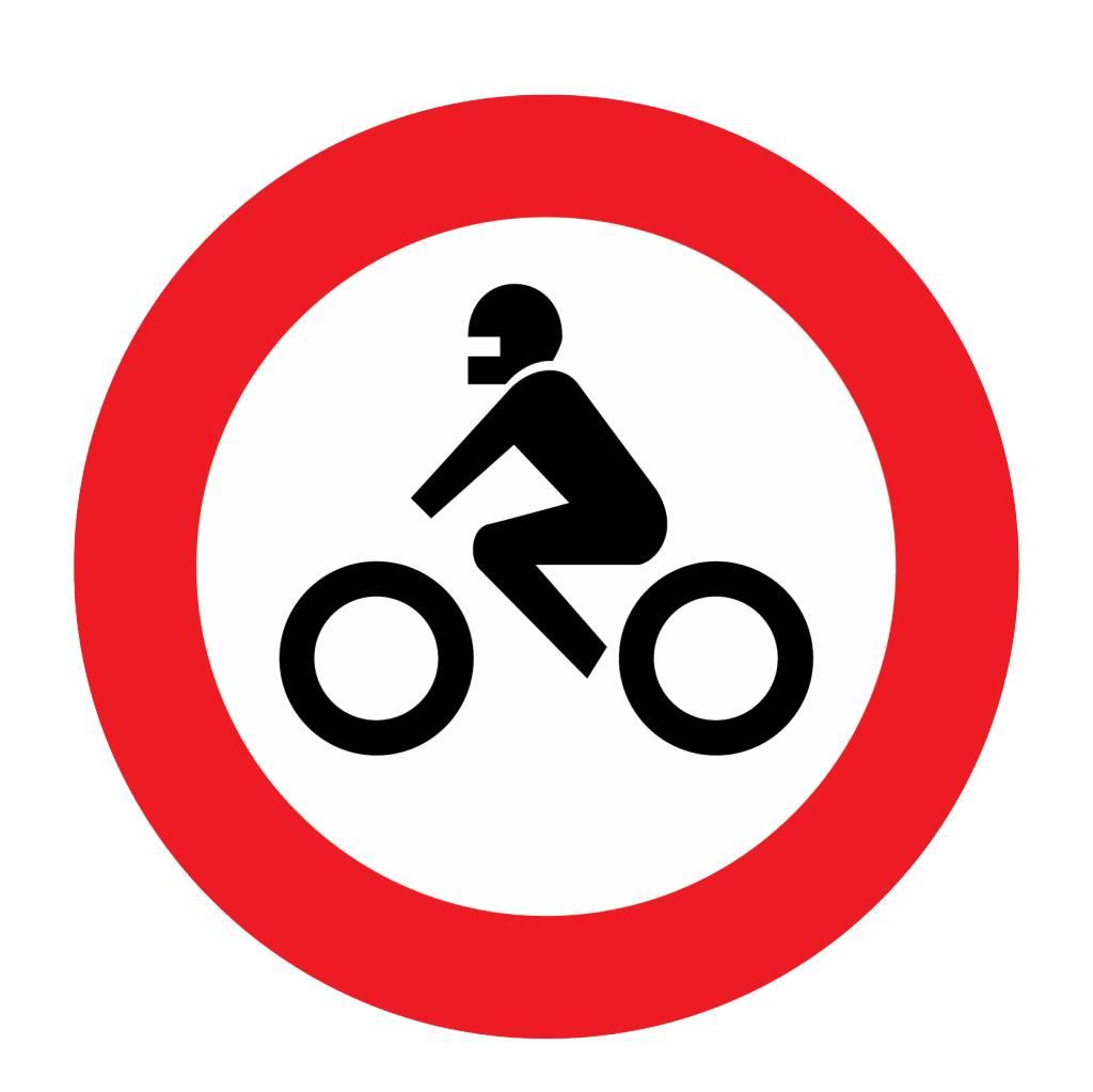 Durchfahrtsverbot für Krafträder