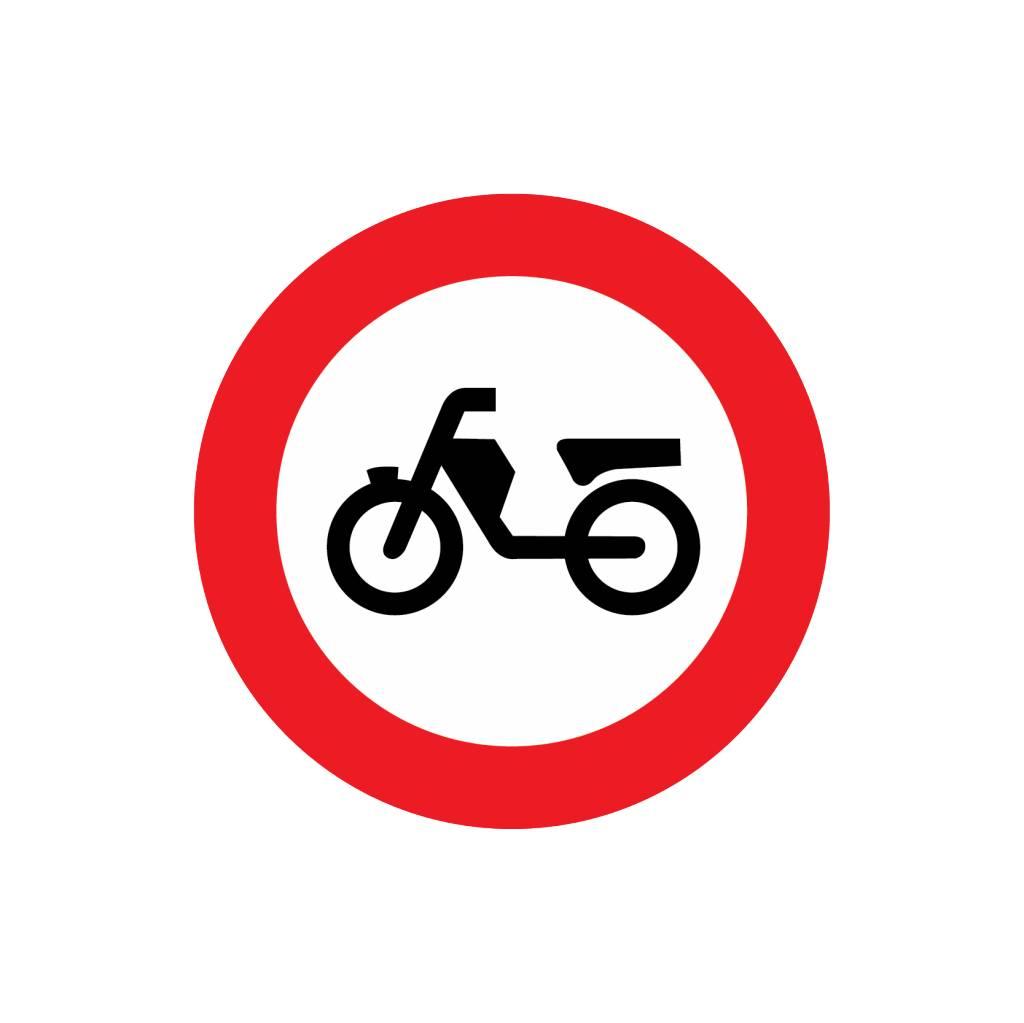 Durchfahrtsverbot für Mofas