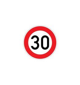 Maximumsnelheid 30 km Sticker