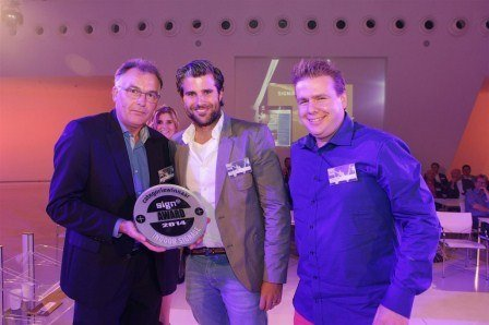 Dr.Sticker wint vakprijs Sign+ award