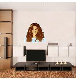 Muursticker Beyoncé