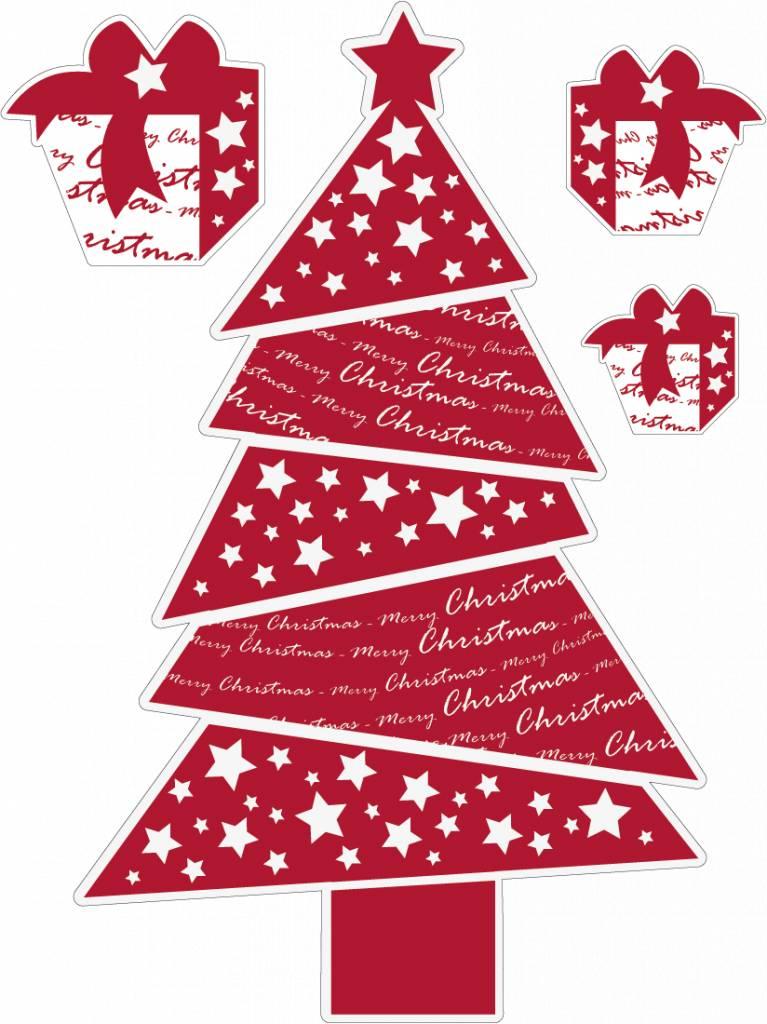 Weihnachtsbaum Rot.Weihnachtsbaum Rot