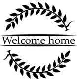 Welkom Terug Raamsticker - Welcome Home