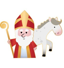 Saint and horse