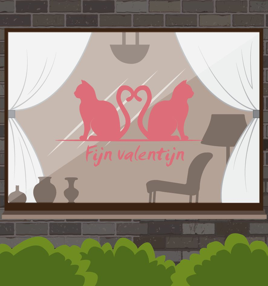 Valentijnsdag - Liefdes Katjes