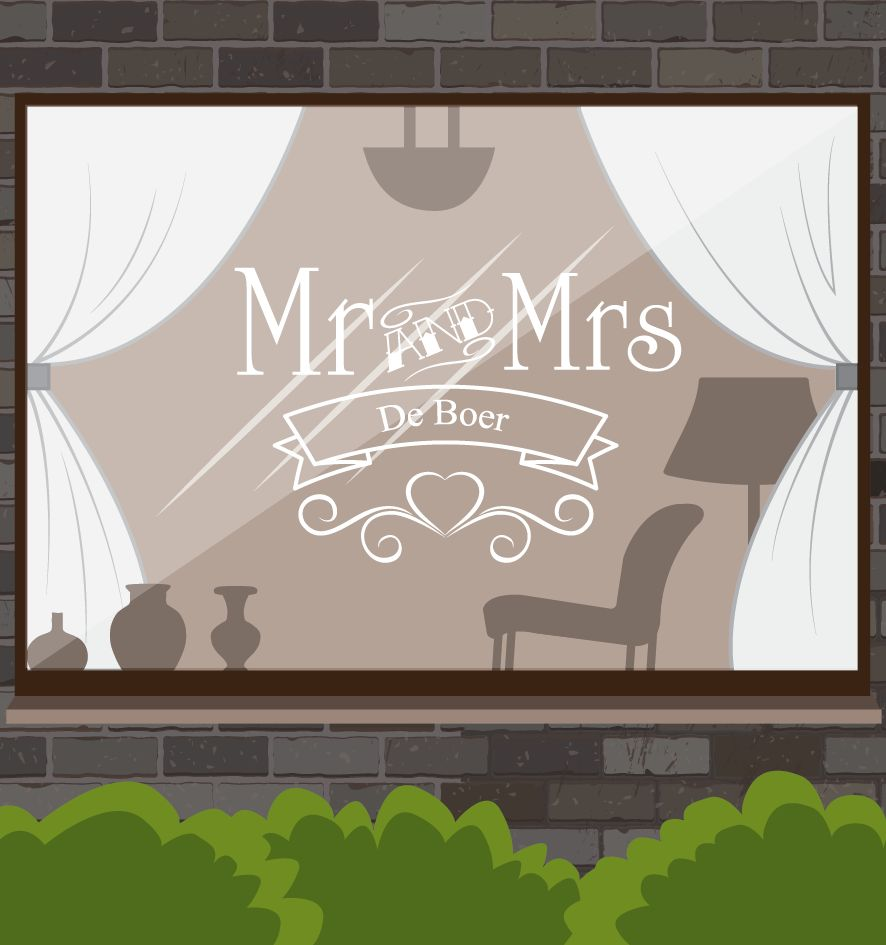Trouwdag - Mr & Mrs