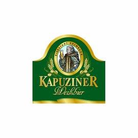 Kapuziner Kapuziner Schwarze Bügelflasche 20 x 0,5