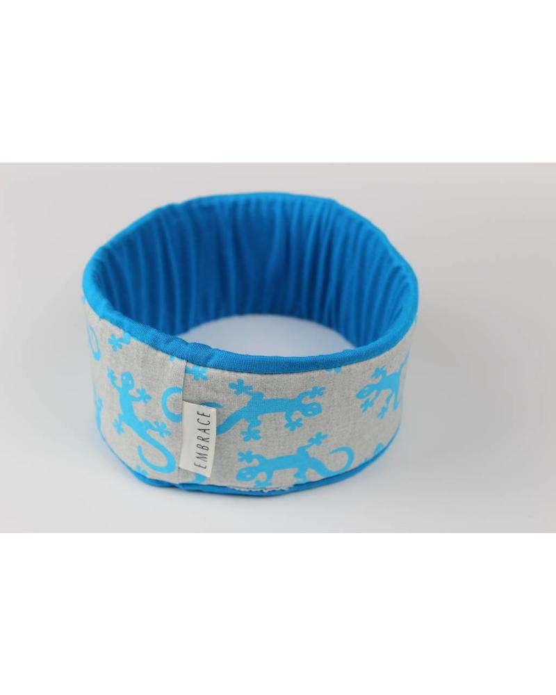 "Embrace headband ""Salamandra azzurra"""