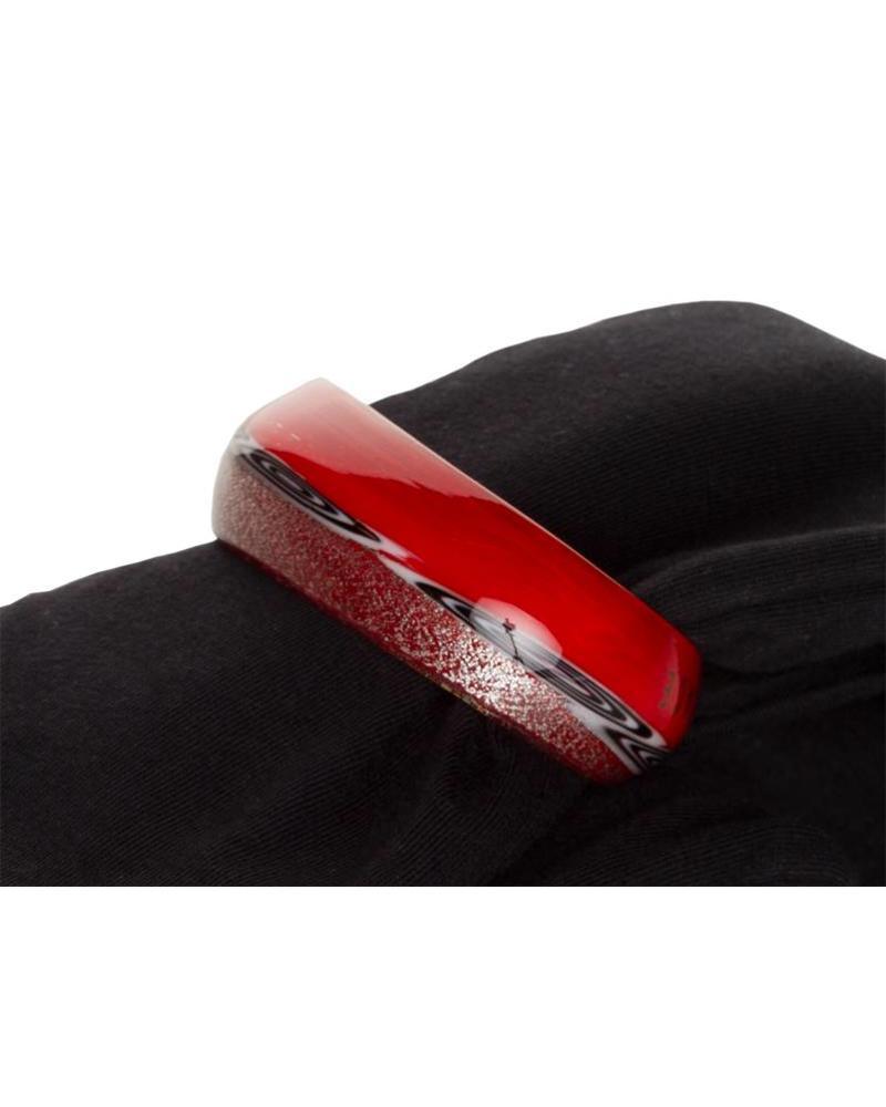 Embracelet - Rot Murano Glass Ring