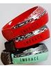 Embrace Embracelet in rot/schwarz - Murano Glassring