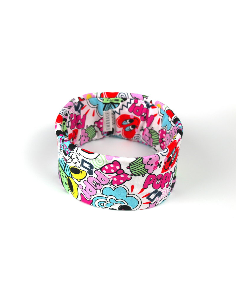 "Embrace headband ""comic pop up"""