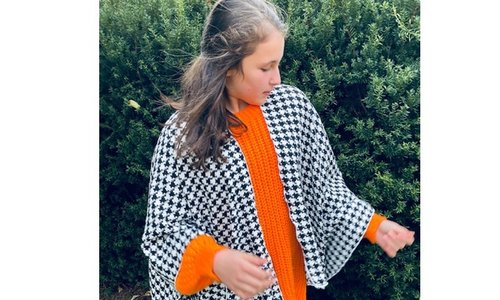 handmade scarves & capes