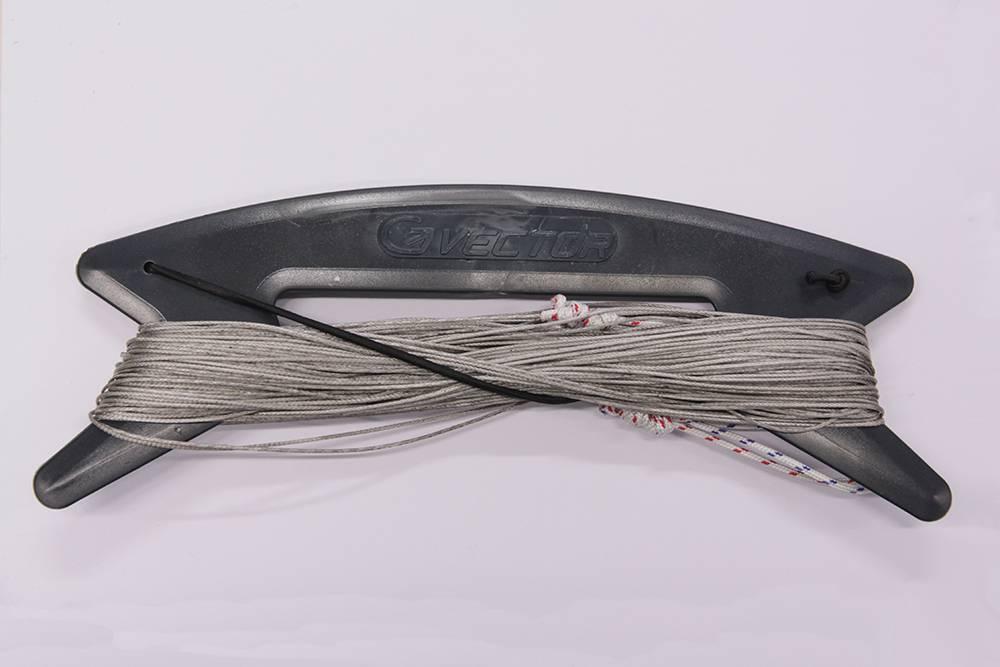 Vector Vector colour kitelines 2x25m 170kg grijs
