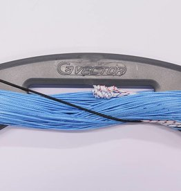 Vector Vector colour kitelines 2x25m 210kg blauw
