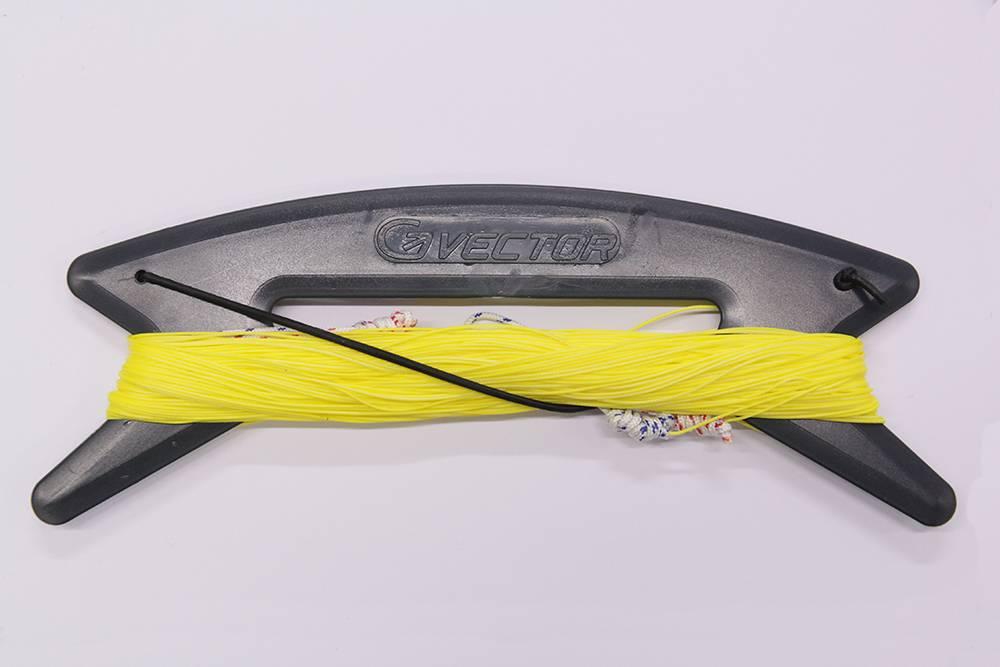 Vector Vector colour kitelines 2x20m 110Kg Geel