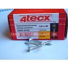 4tecx montageschroeven voor alumunium profielen