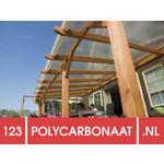 Polycarbonaat dak compleet