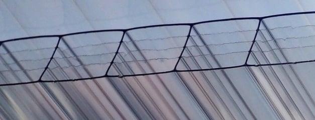 5-wandige polcarbonaat kanaal plaat